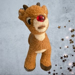 Rudolph Build A Bear Talks/Nose Turns Red